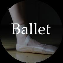 Ballet graphic circle