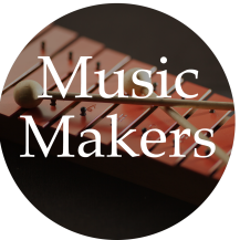 Music Makers graphic-circle